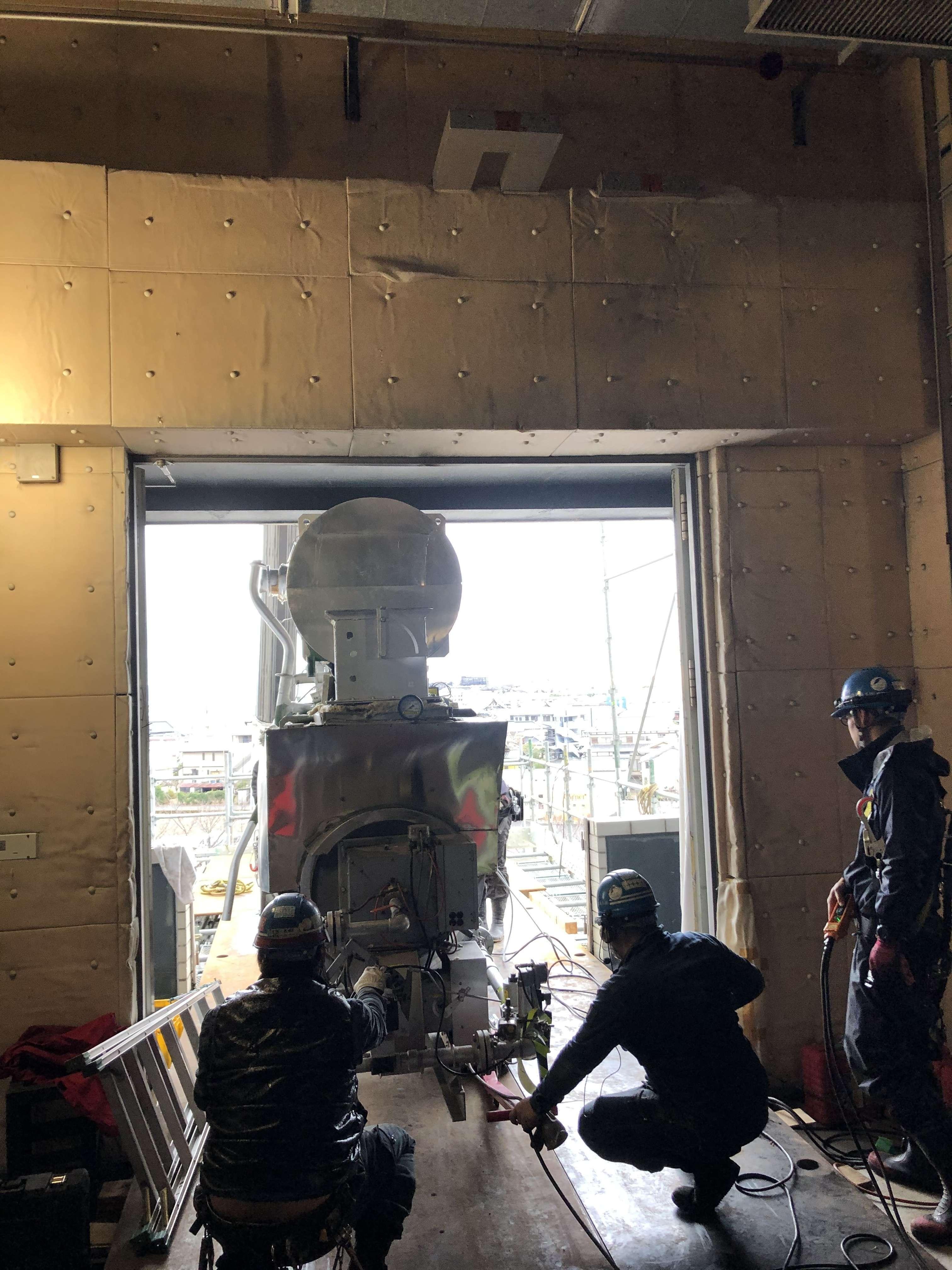 新規機器搬入設置   静岡県富士市を拠点に全国で機械据付工事や重量物 ...