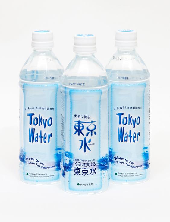 東京水ペットボトル