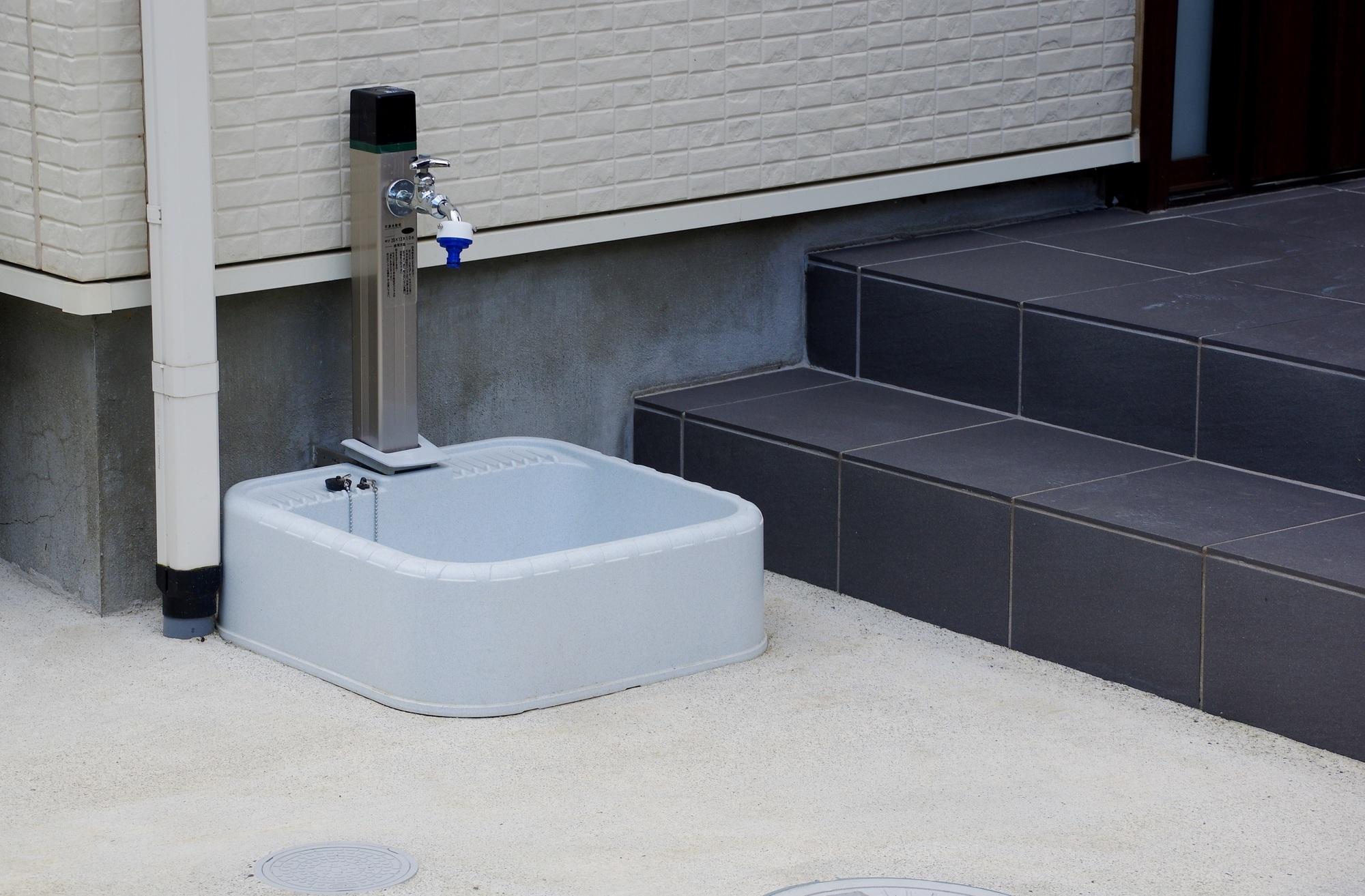 外用水栓の種類と特徴