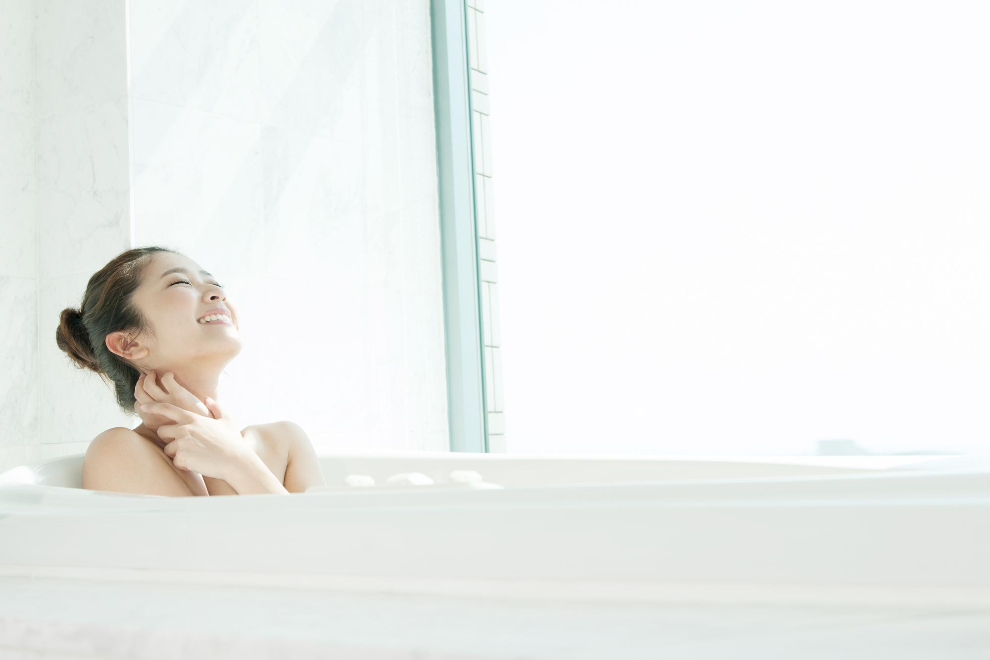 入浴法によって花粉症改善
