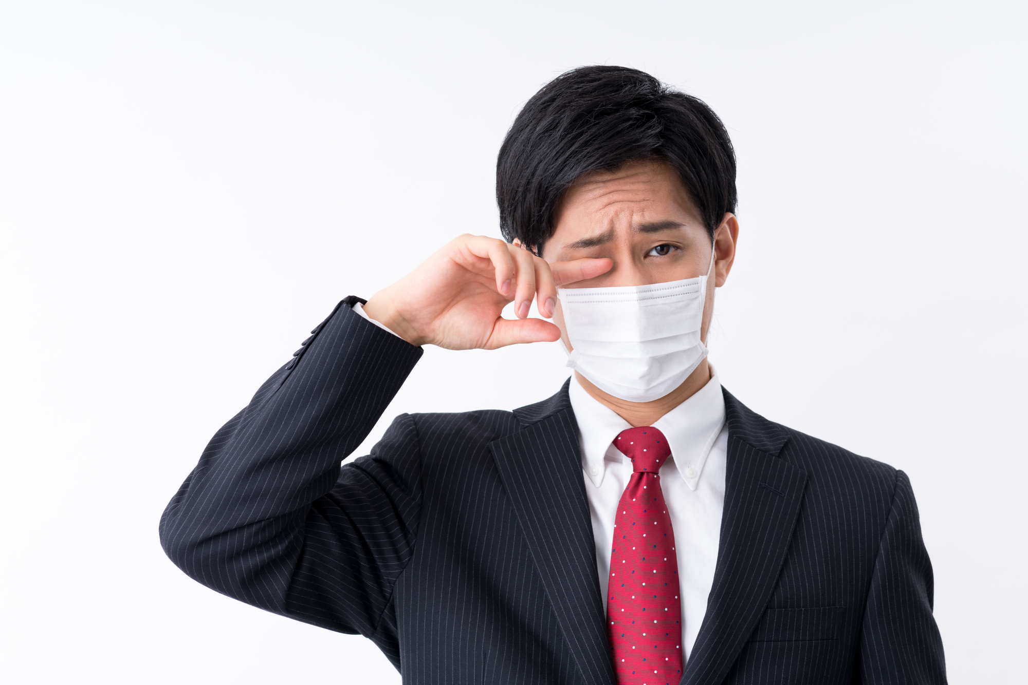 しっかりと花粉症を予防