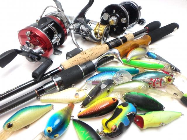 ブラックバス釣りに必要な道具
