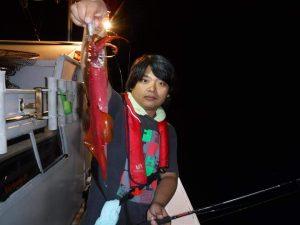 イカメタル釣行
