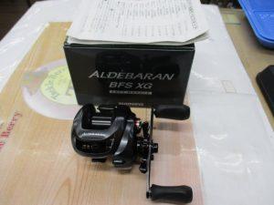シマノ「12アルデバランBFS XG LH」入荷です。