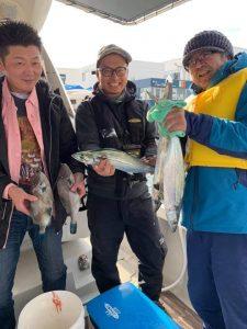 海の魚が釣れたんです!