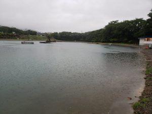 雨のエリアフィッシング(・・;)