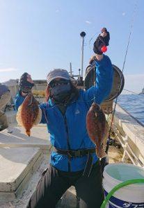 久々のカレイ釣行㏌吉浜