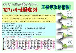 プロフェッサー永井の王禅寺攻略情報!