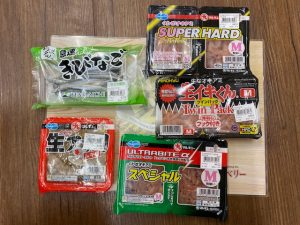 松山店★みんなで餌釣り。
