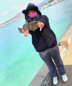 松山店★私は雨でも釣る女よ。