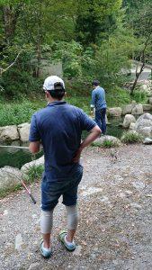 管釣りに行ってきました。