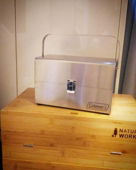 ステンレス製スパイスボックス