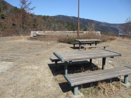 マキノ高原キャンプ場の展望サイト