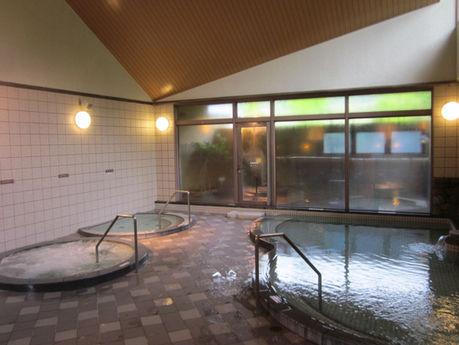 マキノ高原キャンプ場の温泉の写真