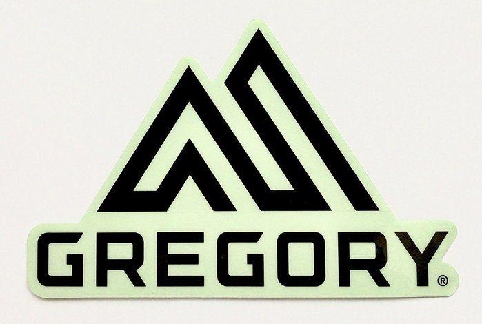グレゴリーのロゴのステッカーの画像