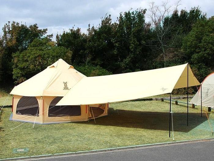 DODのテントの写真