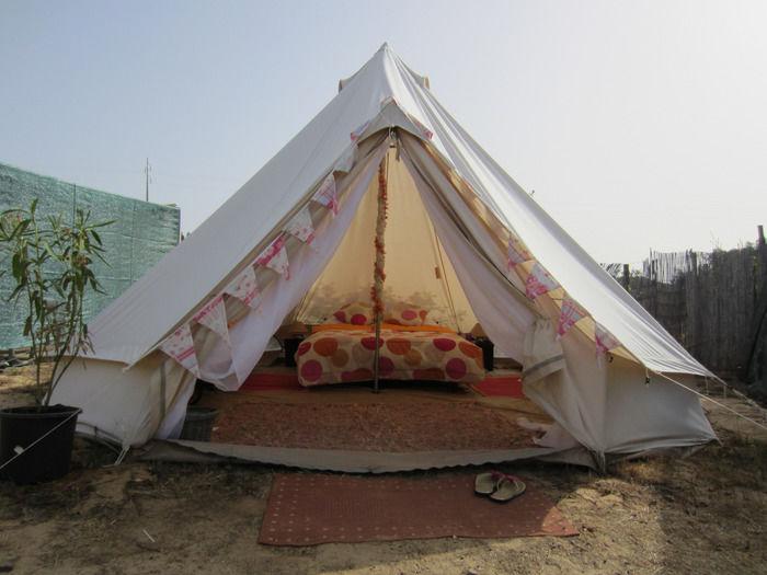 グランピングテントの写真