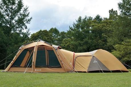 スノーピークのテントの写真