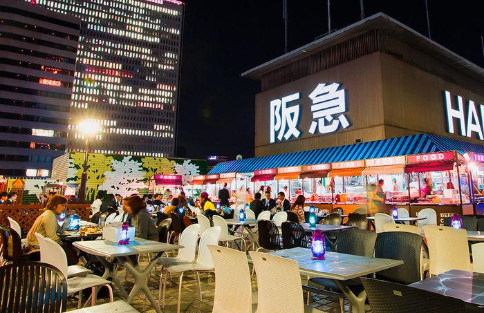 阪急トップビアガーデンの雰囲気の写真