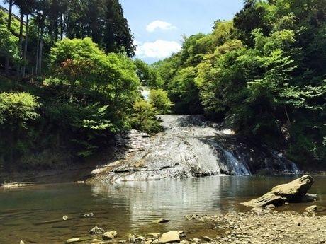 養老渓谷の川の写真