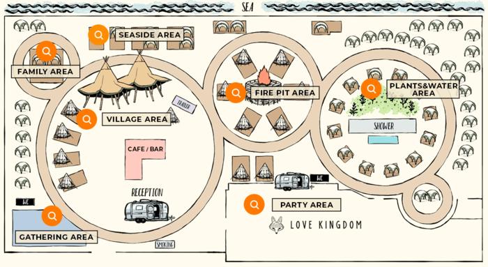 ザ・レインボー・ファームの見取り図