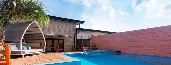 ネスタリゾート神戸のプールガーデンスイート