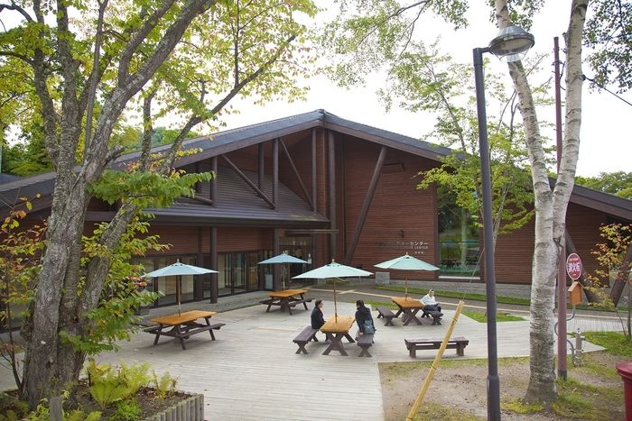 美笛キャンプ場のビジターセンター