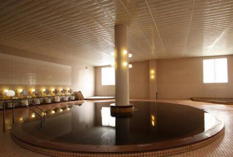 室内温泉の写真