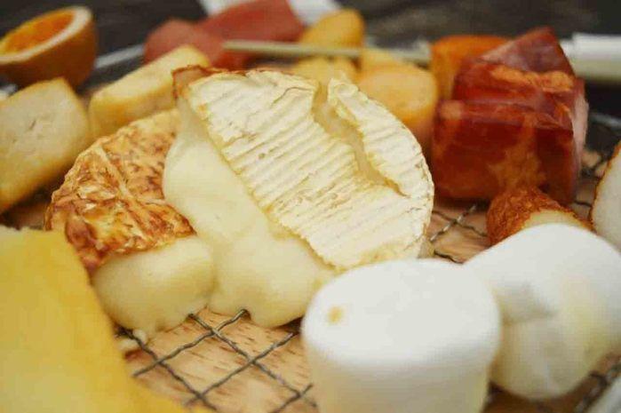 燻製チーズの写真