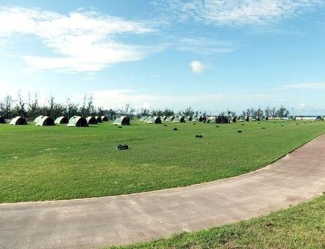 沖縄で直火OKな焚き火ができるキャンプ場