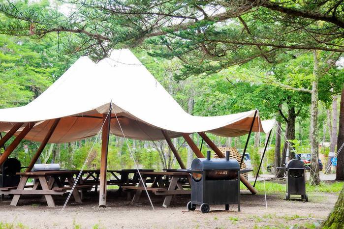 ライジングフィールド軽井沢のテントの写真