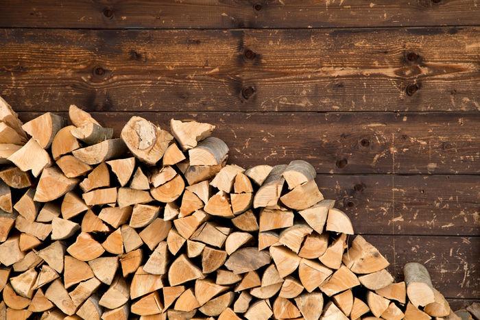 焚き火で使う薪