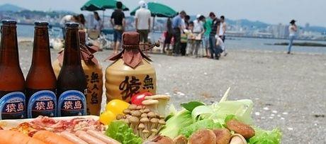 デジキュー猿島BBQの食材の写真