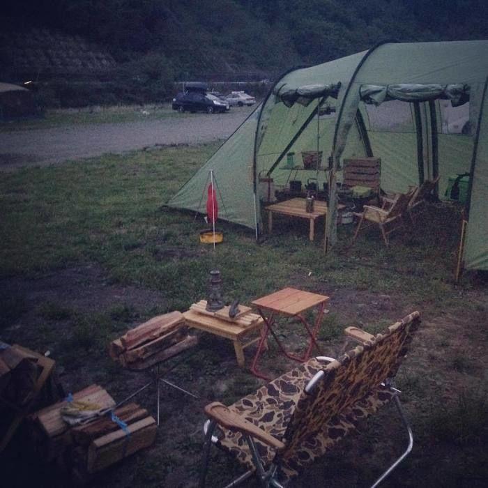 キャンプサイトの写真