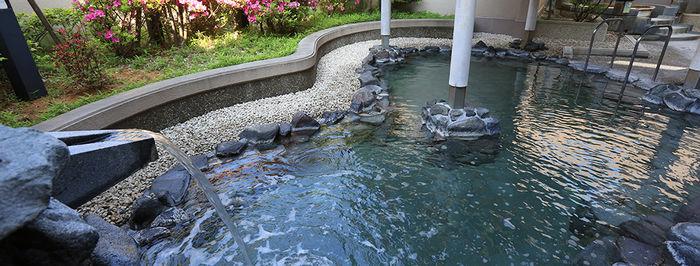 アクアパーク シ・オンの露天風呂の写真