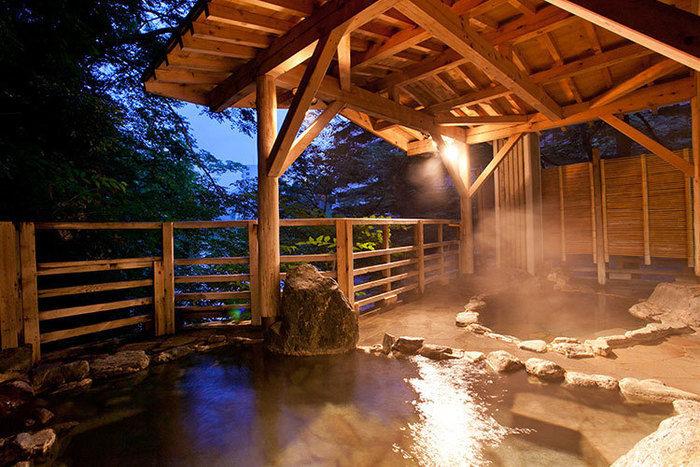 水上館の温泉