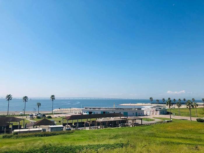 二色の浜公園の海浜緑地の写真