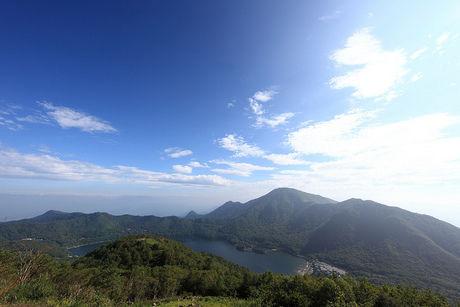 赤城山の頂上付近
