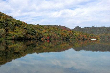 赤城山キャンプ場周辺の湖