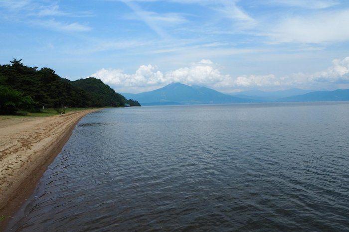 会津若松の海の写真