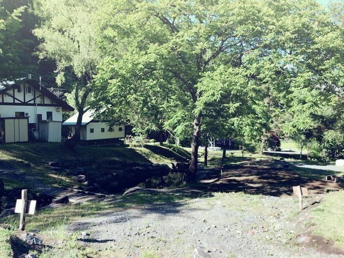 小黒川渓谷キャンプ場のコテージの写真