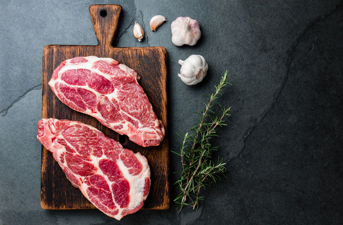 大きな肉の写真