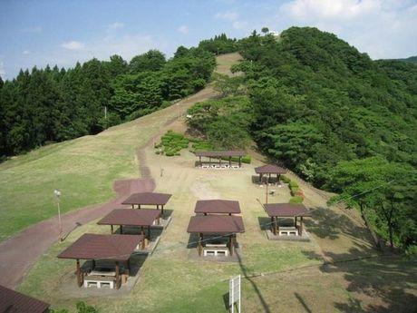猿倉山森林公園の様子