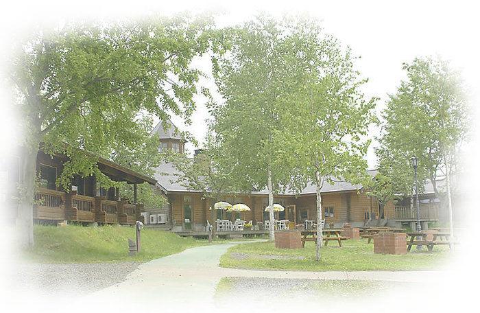 つがる地球村の園内の写真
