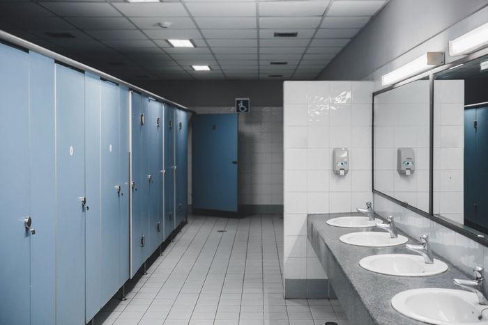 綺麗なトイレの写真