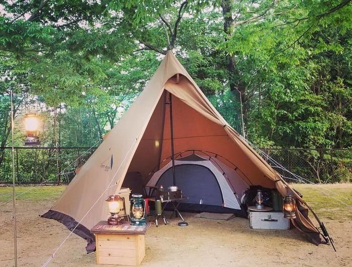 テンマクデザインのサーカスTCでカンガルースタイルキャンプ