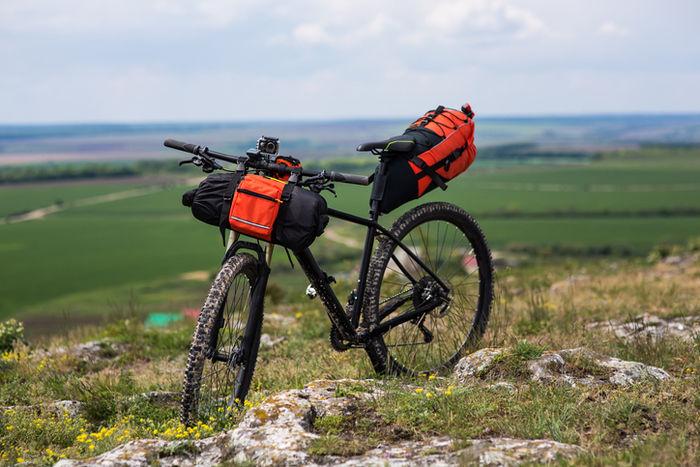 バイクパッキングの一例