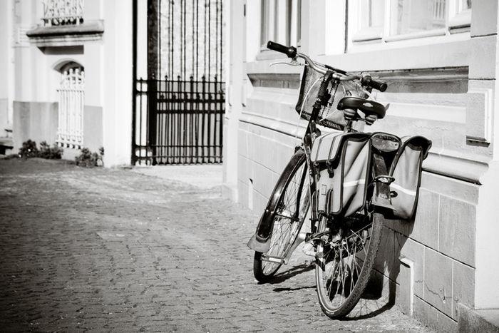昔のバイクパッキングシステム