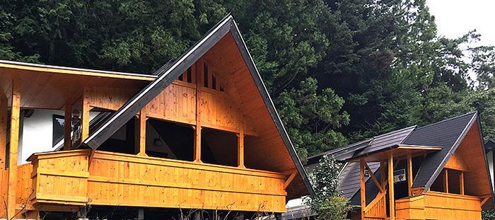 ウエストリバーオートキャンプ場のバンガロー