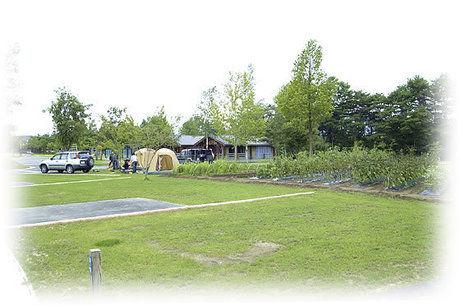 つがる地球村のテントサイトの写真